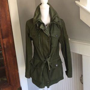 J.Crew olive green cargo jacket